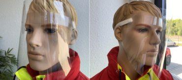 Gesichtsvisier Faceshield (sofort lieferbar)